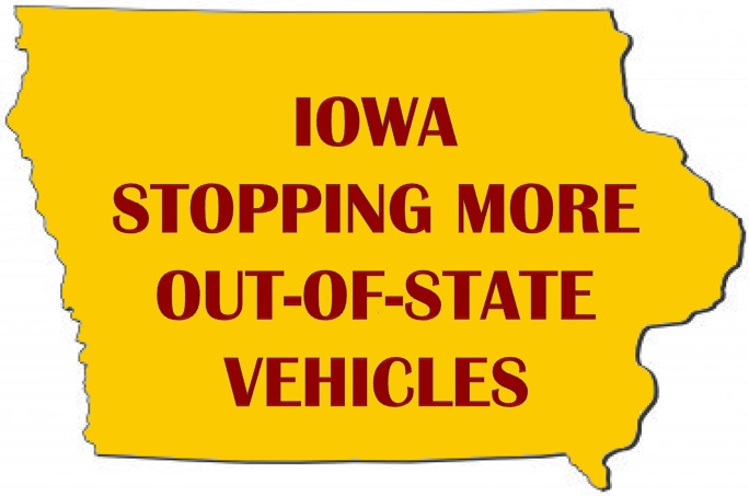 Blog Post: Iowa Stopping More Out-Of-State Drivers